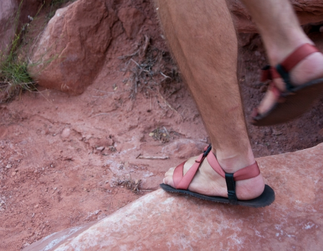 Pah Tempe–first barefoot huarache without a toe strap by Unshoes